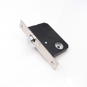 Image 3 - Movable Sliding Door Lock Handle Locks Keyed Privacy Door Security Door Lock