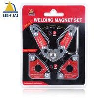 LISHUAI 3Pcs/Pieces,Multi angle Welding Magnet + 20 200 Degree Adjustable Welding Clamp