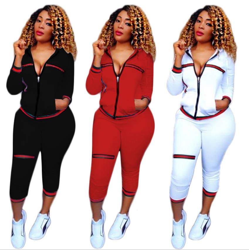 Summer 2018 Sexy Tracksuit Women Tops And Pants Set  Two Piece Set Top And Pants 2 Piece Outfits For Women CM119