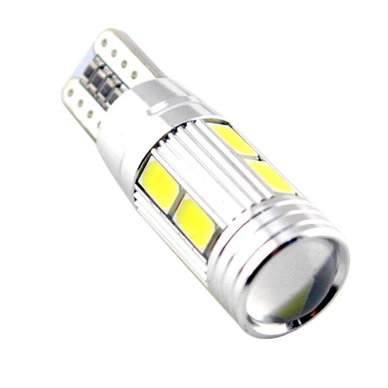 Whole sale High Power Auto Car LED Bulb light W5W COB CANBUS No Error for Parking Fog lamp 10pcs/lot