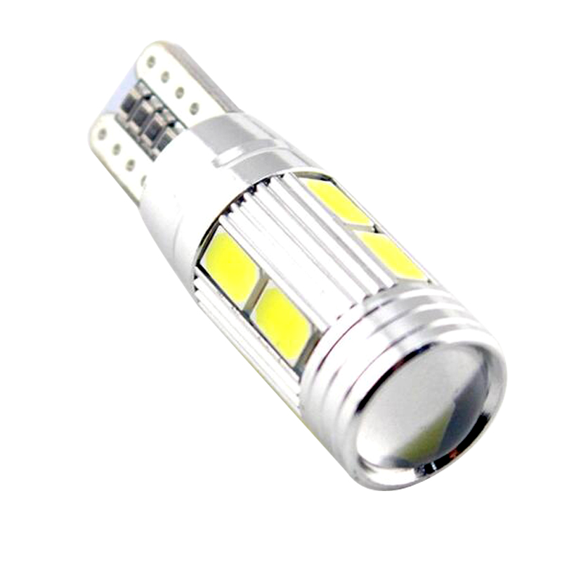 Whole sale High Power Auto Car <font><b>LED</b></font> Bulb light W5W COB CANBUS No Error for Parking Fog lamp 10pcs/lot image