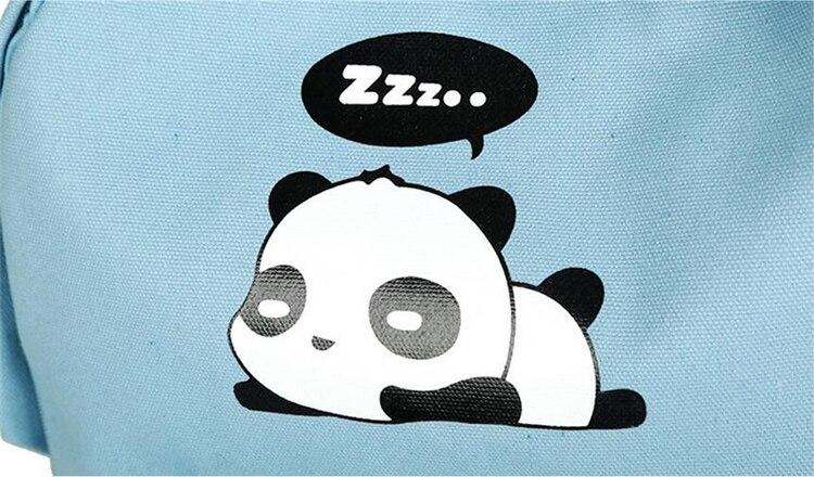 ed137d6546e5 MALLRAT Panda Backpacks For Girls Backpack Set Bags For Kids Child ...