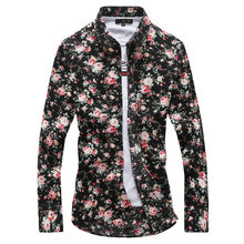 2019 Fashion Shirt mannen Met Lange Mouwen 2018 Herfst dag(China)