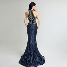 Long Mermaid Evening Dresses Sexy V Neck Beading Hot Sale Formal Party Gowns