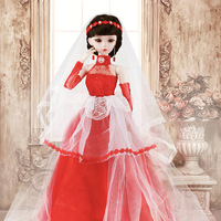 Jointed Handmade Wedding Dress Princess