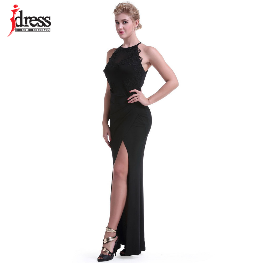 61c8b7ee83 IDress Club Factory Women Clothing Summer Split Evening Long Dress Sexy  Hollow Out Ukraine Robe Wedding Elegant Maxi Dress Party