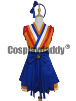 LoveLive! SunShine! dreamer takami chika orange kimono dress cosplay kostuum
