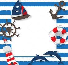 Виниловый тканевый фон для фотосъемки с изображением моряка летнего моря пляжа путешествий Высокое качество компьютерная печать день рождения