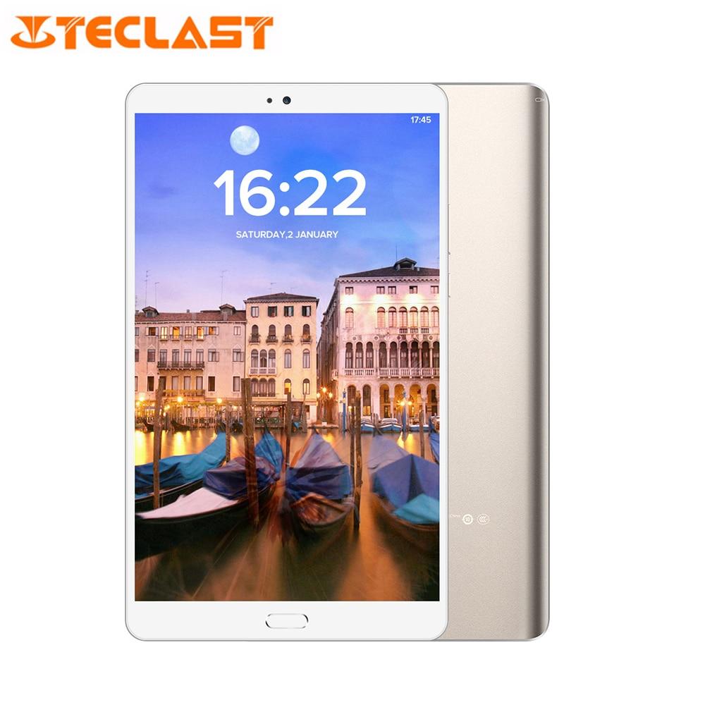 Mestre T8 Teclast Android 7.0 8.4 ''Tablet PC Núcleo Hexa 4 GB + 64 MTK8176 GB 13.0MP de Reconhecimento de Impressão Digital frente 8.0MP Traseira OTG