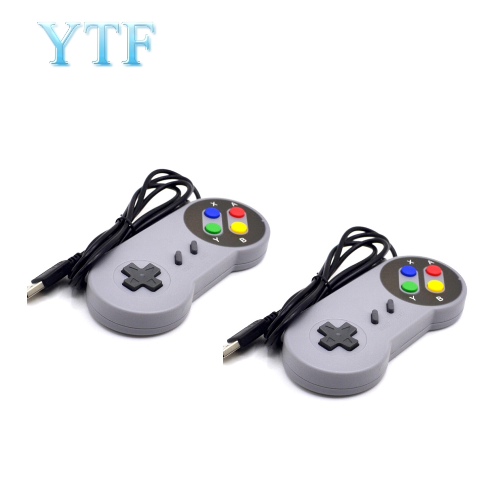 100pcs Raspberry Retropi Game Console Remote Control Handle - Plug And Play - USB Handle, SNES Handle