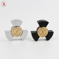 2017 New Seiko Chubby Hand Spinners Metalen Tri Spinner Fidgets Aluminium Alloy EDC Fidget Spinners ADHD