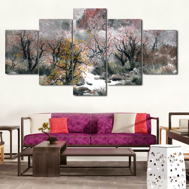 Wall Art Home Goods: Oil Painting Canvas Painting By Number Nude Art Woman Body