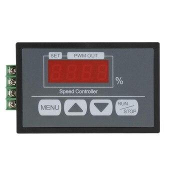 Горячая-цифровая панель дисплея 30A Dc 6V ~ 60V ШИМ контроллер скорости двигателя Медленное Пуск/стоп вращающееся время вращения