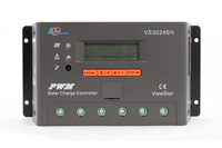 EP PWM Programmable Solar Panel Charger Viewstar VS3024BN 30A 12V 24V Charger Batterys support MT50 WIFI Bluetooth elog01