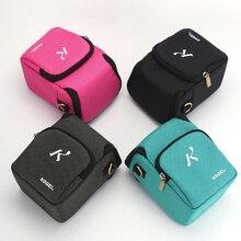Darbeye dayanıklı kamera çantası Canon EOS M2 M3 M6 M10 M100 G5X G15 G16 G12 SX130 SX150 SX160 SX170 G1XII G1XIII g1X3 omuz çantası