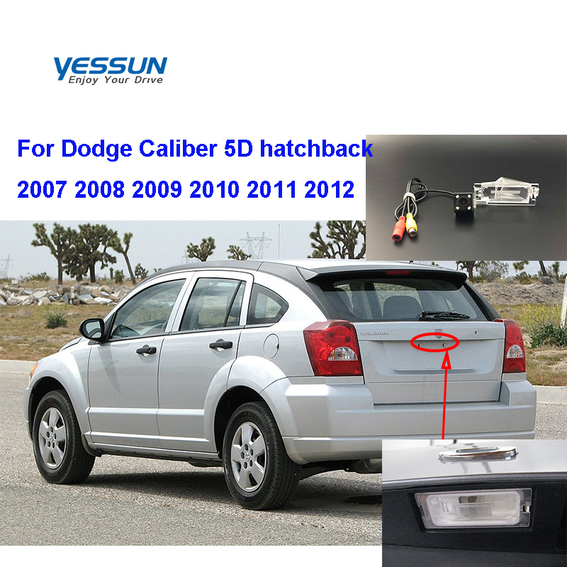 Car Rear View Reverse Backup Camera For Dodge Caliber 5D Hatchback 2007 2008 2009 2010 20112012 CCD Rear Camera/backup Camera