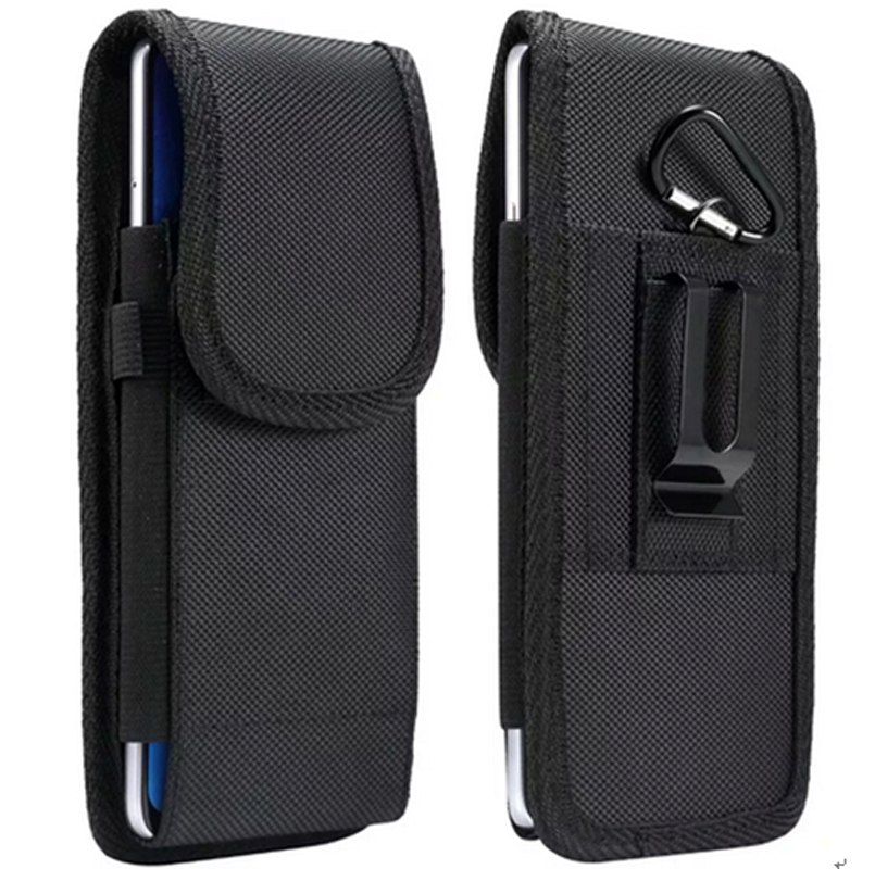 Pouch Holster <font><b>Case</b></font> Rugged nylon <font><b>belt</b></font> loop clip Fits For <font><b>iphone</b></font> X <font><b>XR</b></font> XS Max For Samsung S10 S9 S8 S7 S6 Note 9 8 5 cover <font><b>case</b></font> image