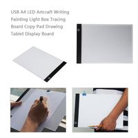 Digital Tablet 13.18*9.29 inch A4 LED Artist Thin Art Stencil Drawing Board Light Box Tracing Table Pad with 3 type light adjust
