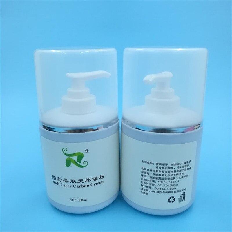 Laser Carbon Cream Gel Laser Skin Rejuvenation Treatment 1320nm Carbon Power black ball facial care 2