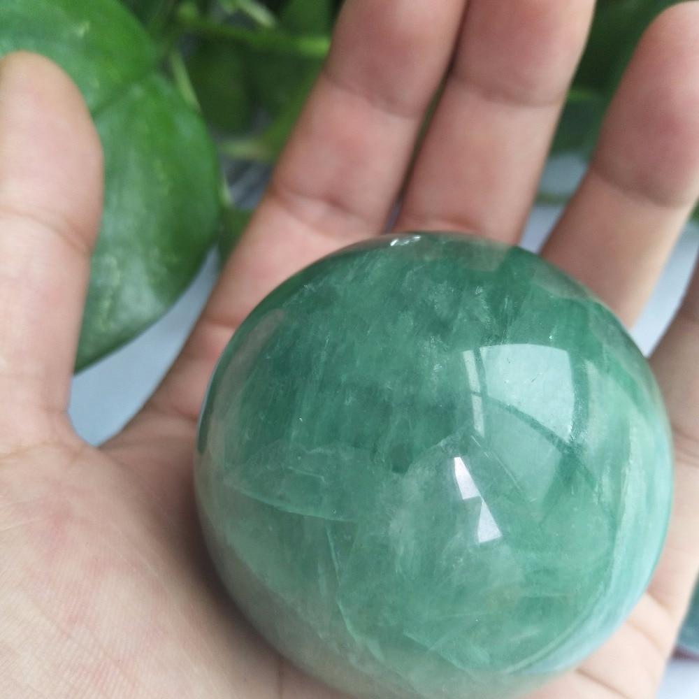 50-55 mm Natural Fluorite Ball