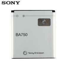 Original SONY BA750 Battery For Sony Xperia Arc S LT15i X12 LT18i Genuine Replacement Phone 1460mAh