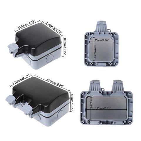 interruptor da tomada de parede ip66 tempo