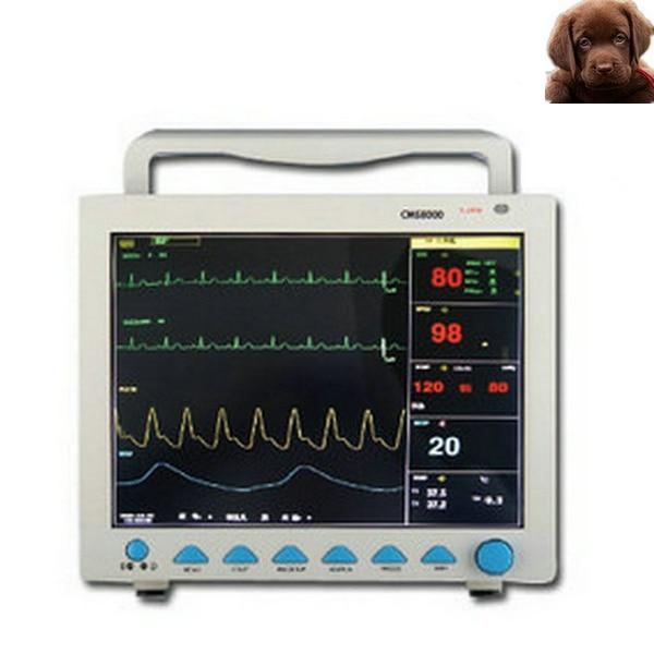 CE FDA Contec CMS8000 Vet Multi-parameter Veterinary Patient Monitor for Animals thermal printer free 1 printer paper for contec multi parameter patient monitor