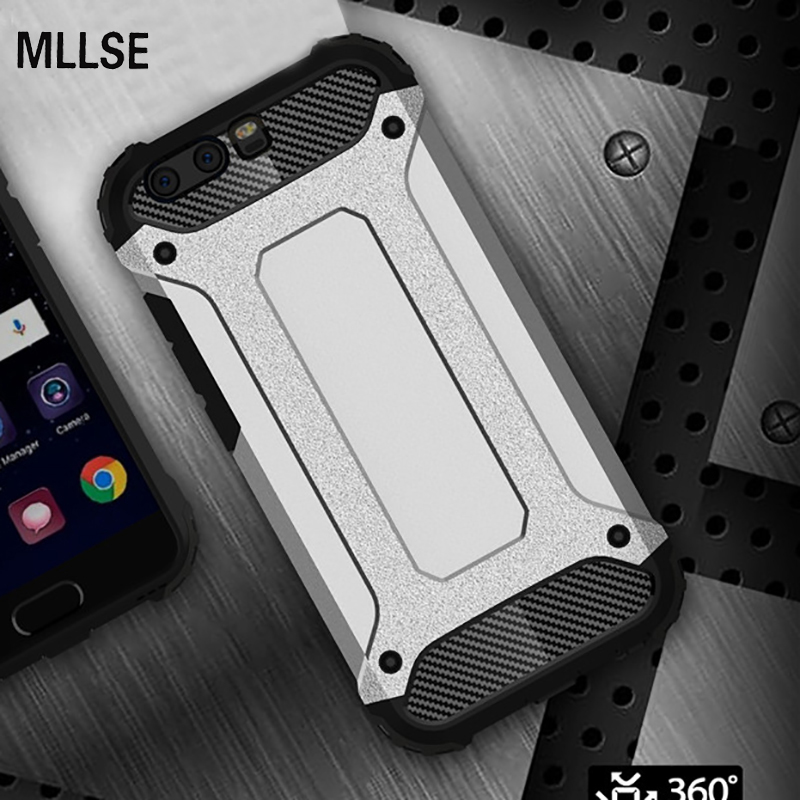 MLLSE Strong Hybrid Tough Shockproof Armor <font><b>Phone</b></font> Back <font><b>Case</b></font> for HUAWEI P10 Plus P8 P9+ Honor 6X 5X Y6 II Nova+ Hard Rugged Cover