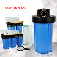 3 Level 20 Inch Front Filter Female Pipe Filtration System Water Filter Whole House Household Bathroom