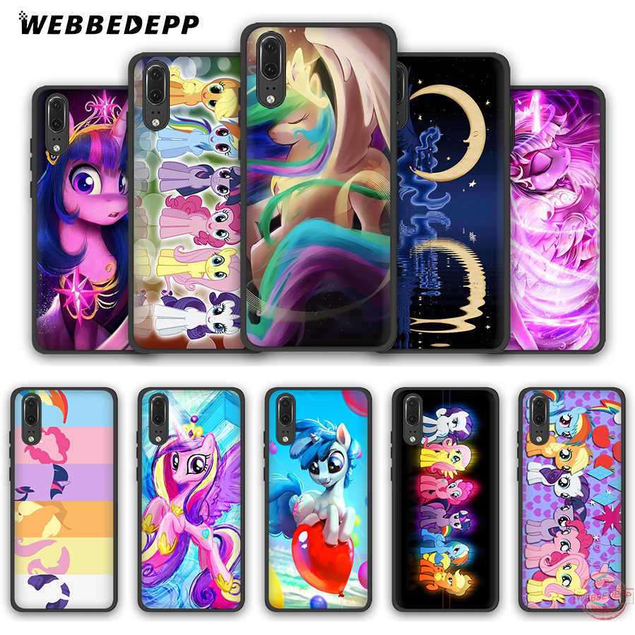 WEBBEDEPP My Little Pony friendly is Magic мягкий чехол для Huawei P8 P9 P10 P20 P30 Lite Pro 2017 2018 2019 чехол