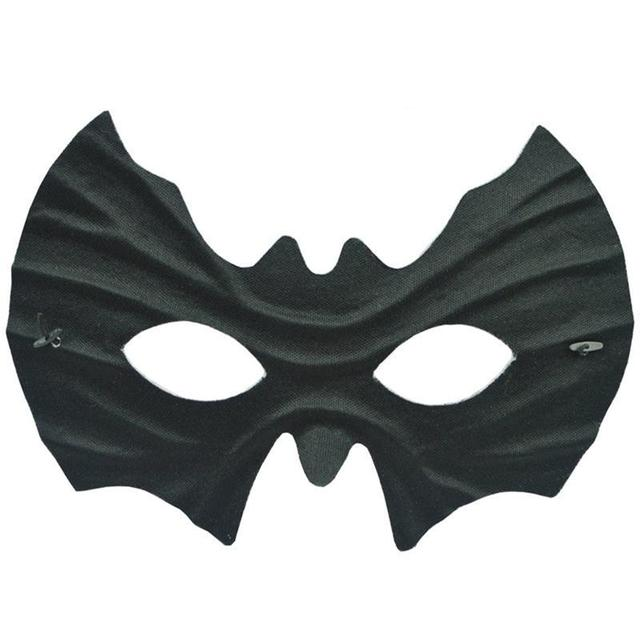 halloween half face bat mask creative party decoration props supplies