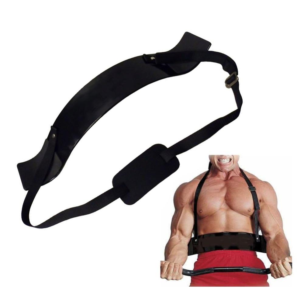 Fitness Bras Blaster Réglable Bodybuilding Biceps Curl Blaster Bombardier Poids De Levage sangles d'entraînement Gym Équipement