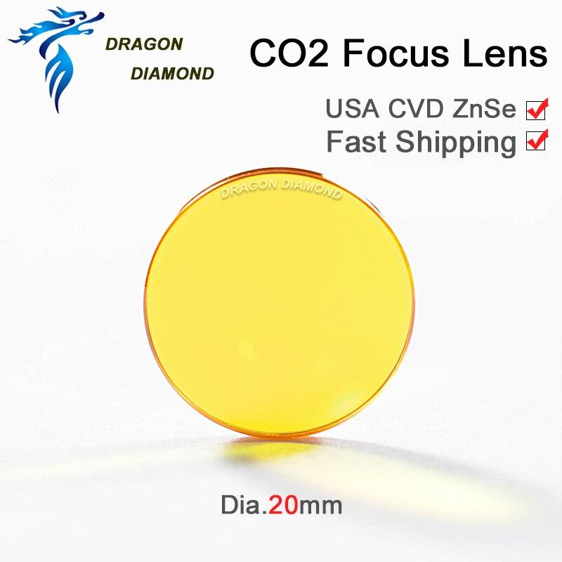 CO2 laser laser USA CVD fookuslääts ZnSe Dia 20mm FL 38,1 mm 50,8 - Mõõtevahendid - Foto 3