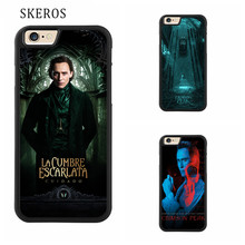 SKEROS Crimson Peak Full Protective cover cell phone case for iphone X 4 4s 5 5s 6 6s 7 8 6 plus 6s plus 7 plus 8 plus #ee125(China)