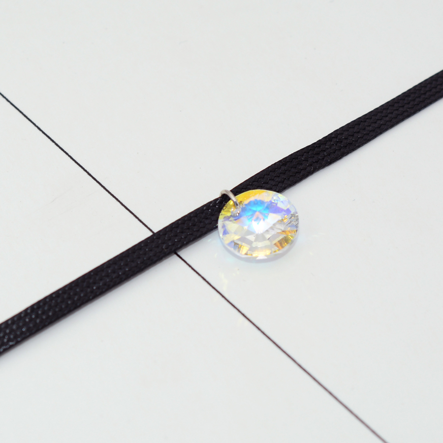 BAFFIN Jednostavni okrugli kristali od SWAROVSKI Elements Choker - Modni nakit - Foto 3