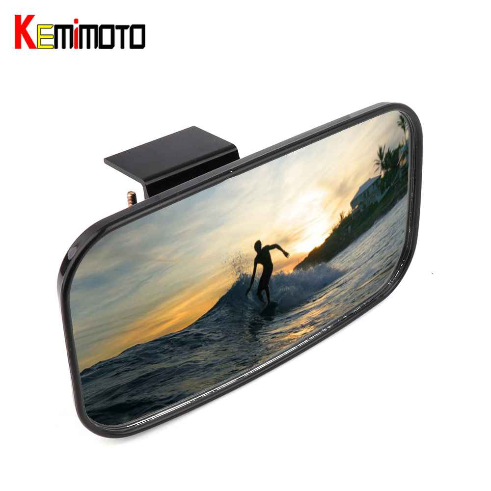 Universal Boat Marine Rear View Mirror For Jet Ski Watersport Personal Watercraft Mirrors For Yamaha Sea Doo For Kawasaki