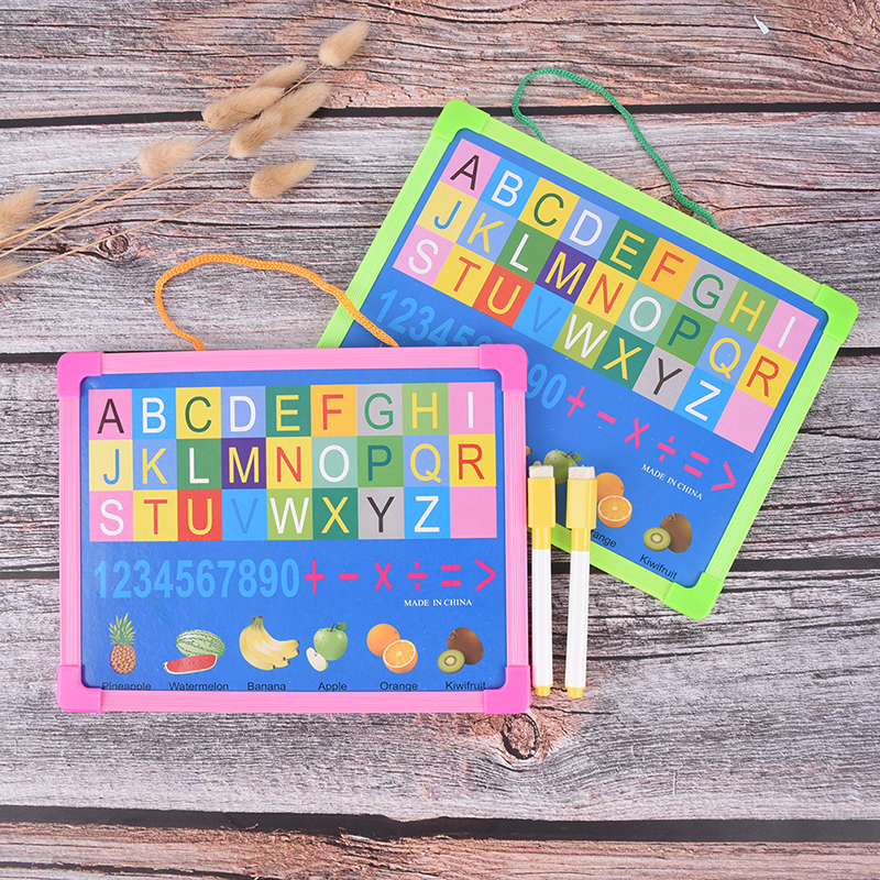 Small Hanging Board  Mini Drawing White Boards With Free Marker Pen Kids Whiteboard Dry Wipe Board