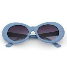 219bae977f Nueva moda mujer ojo de gato Oval gafas de sol bella hadid Instagram gafas  de sol hombres Retro mujer hombre lente claro gafas d.