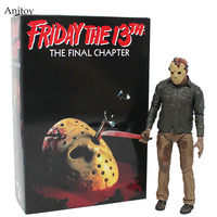 NECA Friday The 13th The Final Chapter Jason Voorhees PVC Figure Collectible Toy 18cm KT4069