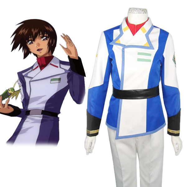 Free Shipping Gundam Seed Kira.Yamato Orb Union Male Uniform Anime Cosplay Costume
