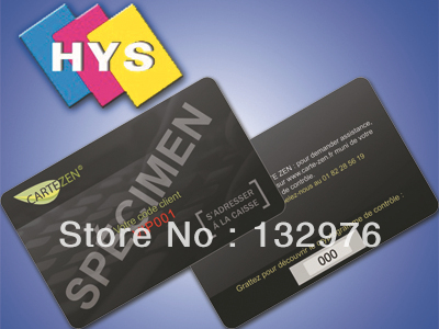 Tarjetas de membresía de PVC/tarjetas de Miembros/tarjetas de PVC
