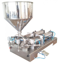 5-100ml double heads Cream Shampoo Cosmetic Automatic Filling Machine GRIND