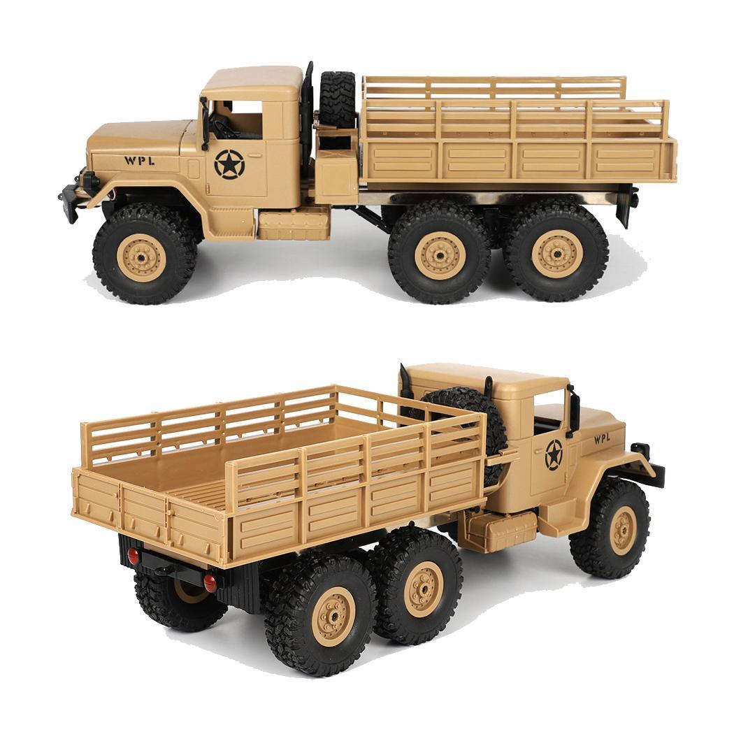 RC camión Mini todoterreno coche remoto 4,8 10 km/60 minutos Control 1:16 por encima de 3 años divertido chico vehículo juguetes Casual - 5