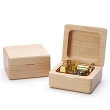 Wooden music box dancer girl creative birthday gift girls lover gifts