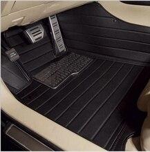 Aa personalizada tapetes especial para hyundai santa fe 7 asientos grand impermeable alfombras de santafe de cuero xl