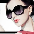 FEISHINI Fashion Prevent UV400 Big Frame Oculos Feminino Glasses Vintage High Quality Classic Beautiful Oval Sunglasses Women