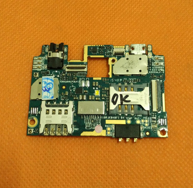 "Mainboard המקורי 1 גרם ram + 8 גרם rom לוח האם עבור doogee x6 mtk6580 quad core 5.5 ""hd 1280x720 משלוח חינם"