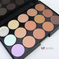 Hot Professional 15 colors Makeup Camouflage concealer eye shadow cream palette15FG Wholesale sombra