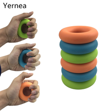 Fitness 30lb  40lb 50lb Strength Hand Grip Muscle Power Training Silicone Easy Carrier Hand Grips Fitness Silico Ring Exerciser  цены онлайн