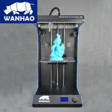 WANHAO D5S 3d printer in high speed Large Building Size 295x195x590mm with multicolor filament, stable quality
